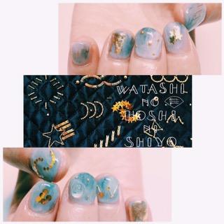 【emiumigumi new collection わたしの星にしよう!× nailsalon moccu
