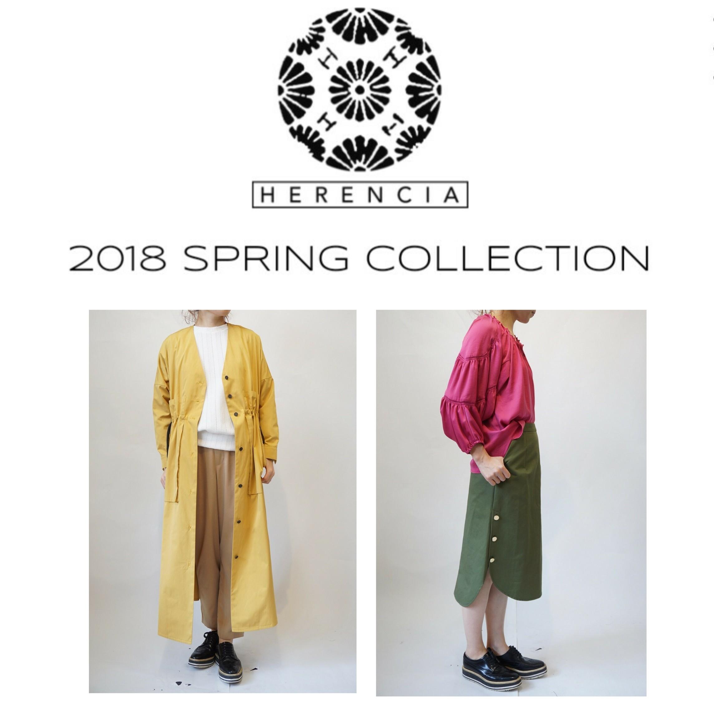 明日から HERENCIA 2018 SPRING COLLECTION 開催♡