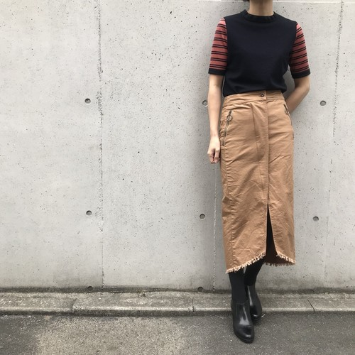 CYNICAL/フロントスリットタイトスカート