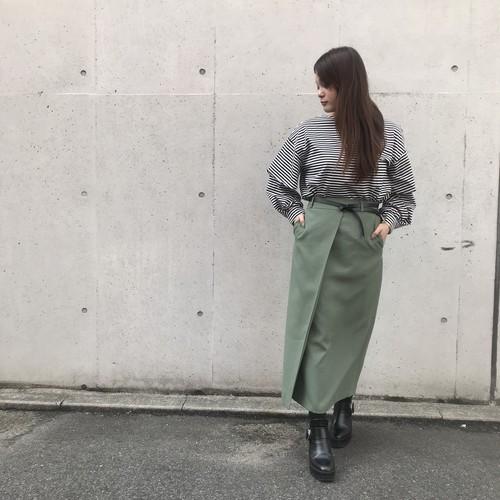 DONEEYU/ベルト付きロングタイトスカート