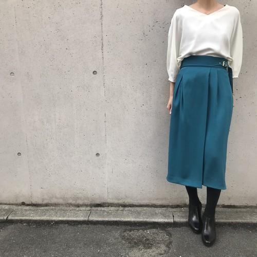 yangany/ウエストベルトタイトスカート