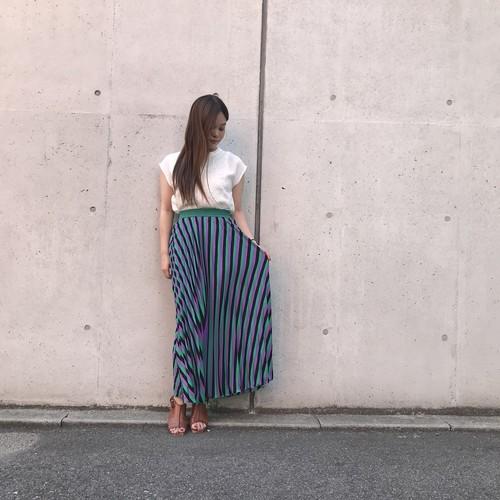 anana/変形プリーツスカート