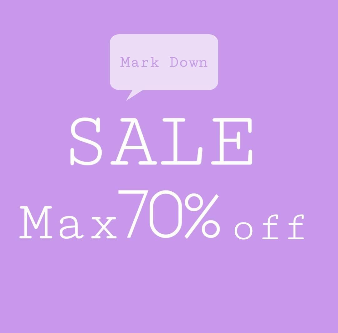 明日からMark Down SALE開催♡