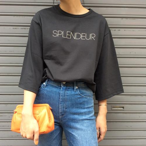 For the people/SPLENDEUR ロゴTシャツ