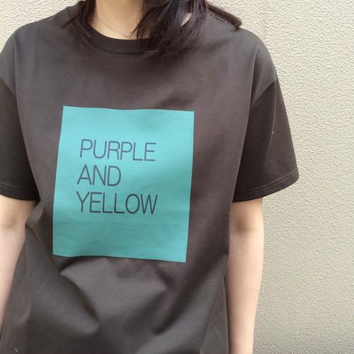De/ボックスロゴTシャツ