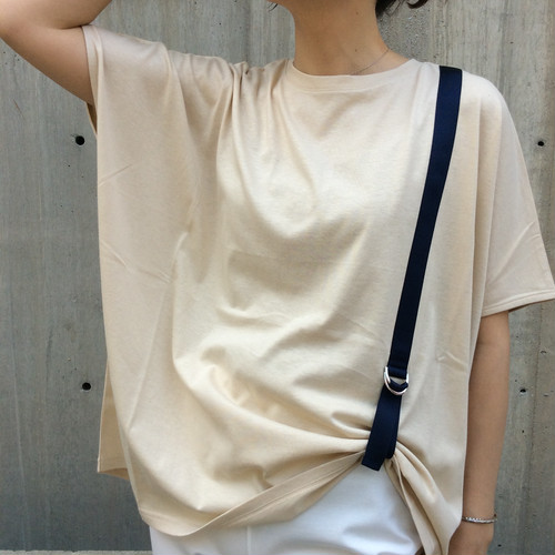 ANNAKERRY/サスペンダー風Tシャツ