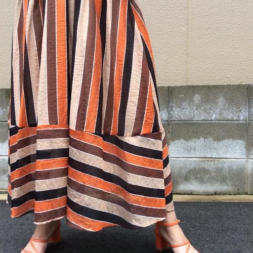 anana/マルチストライプスカート