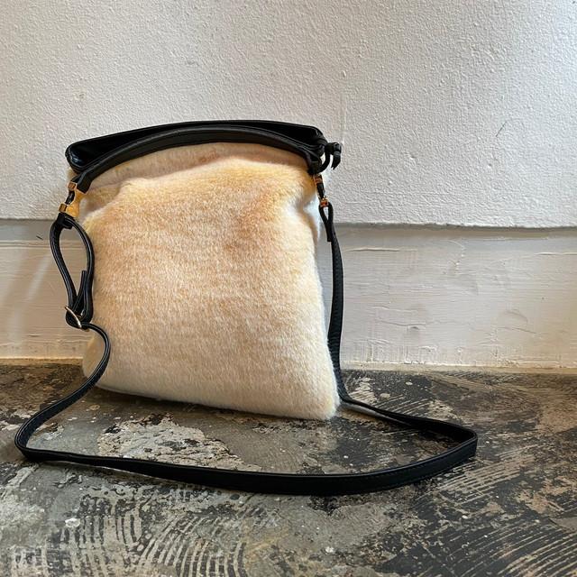 【予約商品】エコファーショルダーバッグ